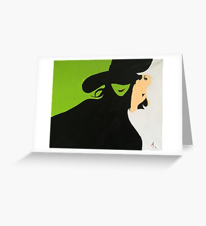 Wicked Greeting Card
