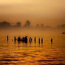 Hudson River Fog by Mary Ann Reilly