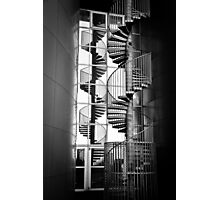 Pearl Stairs Reflection Photographic Print