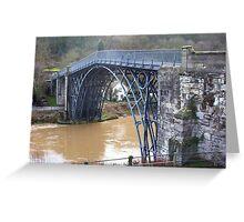 Ironbridge, Telford, Shropshire. Greeting Card