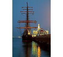Dusk, Cunningham Pier Photographic Print