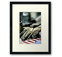 American Machine Shop Framed Print