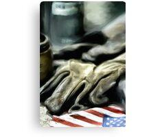 American Machine Shop Canvas Print