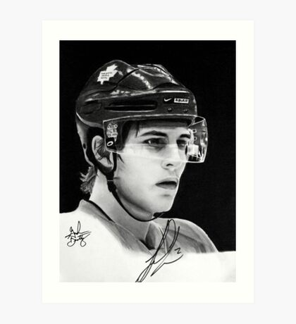 Luke Schenn (Toronto Maple Leafs) Art Print