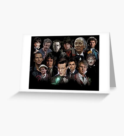 The Doctors Greeting Card