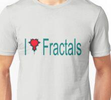 I Heart Fractals Unisex T-Shirt