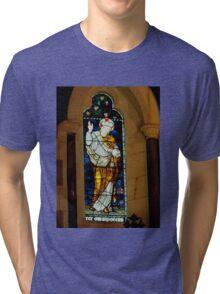 St Barnabas Chapel Kingston Norfolk Island Tri-blend T-Shirt