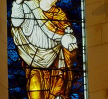 St Barnabas Chapel Kingston Norfolk Island Sticker