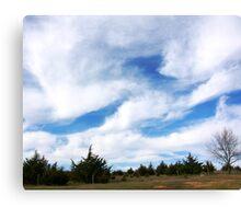 Big Nebraska Sky Canvas Print