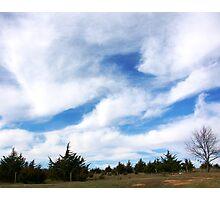 Big Nebraska Sky Photographic Print