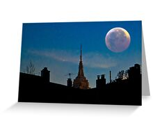 Twilight Time in the City Greeting Card