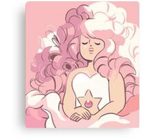 Rose Quartz Canvas Print