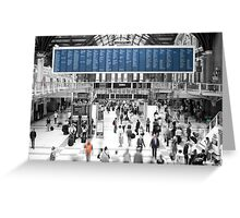 London Liverpool Street Station  Greeting Card
