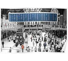 London Liverpool Street Station  Poster
