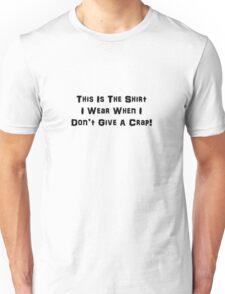 I Don't Give A Crap (Dark Text) T-Shirt
