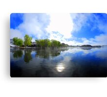 A Look At Willow Lake Canvas Print