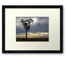 Calm before storm 2 Framed Print