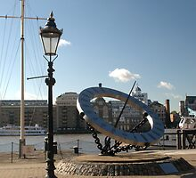 Sun dial by Chris Day