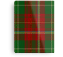 00122 New Brunswick District Tartan Metal Print