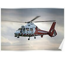 VH-PVG - Police/Ambulance Helicopter Poster