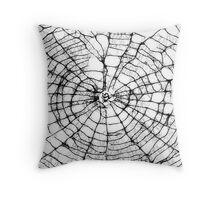 Scribbler Spider Throw Pillow