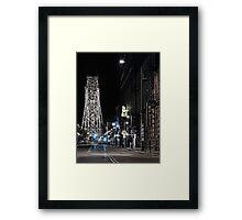 2 A.M. on South Lake Ave Framed Print