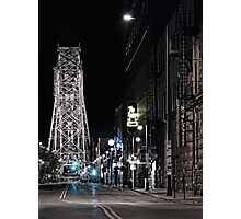 2 A.M. on South Lake Ave Photographic Print