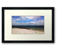 Fort Picken's Beach Framed Print