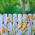 Lillies in the Afternoon by Marriet