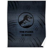 The Park is Open Poster