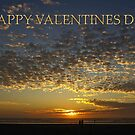 romantic sunset valentine card by dedmanshootn