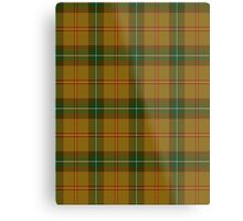 00123 Saskatchewan District Tartan  Metal Print