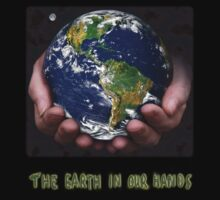The Earth In Our Hands Kids Tee