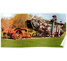 Vintage Old Machinery Poster