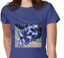 Fallen from Glory - Beautiful Blue Hyacinth Womens Fitted T-Shirt