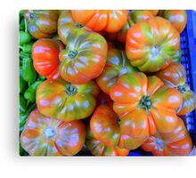 Tomatoes From Majorca Canvas Print