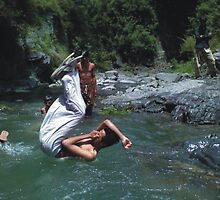 Local But Natural Swiming Pool!!!!!!!!!!!!! by Naveed Sarwar