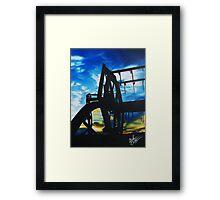 Harvest Sunset Framed Print