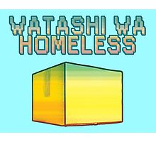 Watashi Wa Homeless Photographic Print
