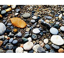 Pebbles at Point Pelee, Ontario Photographic Print