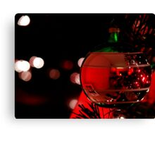 Red Christmas  Canvas Print