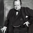 THE INSPIRING CHURCHILL !  by razar1