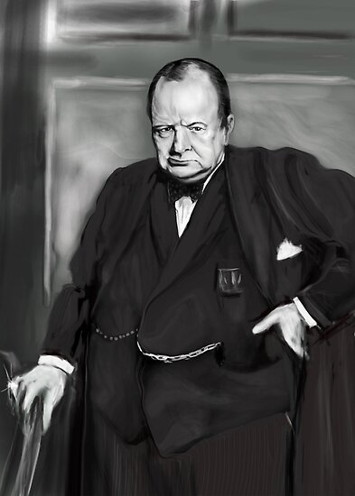THE INSPIRING CHURCHILL !  by Ray Jackson