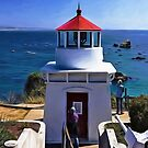 Trinidad Memorial Lighthouse by Diane Schuster