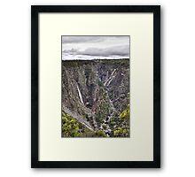 Wollomombi Falls NSW Framed Print