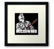Mich-OWNED! Framed Print