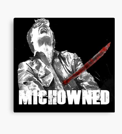 Mich-OWNED! Canvas Print
