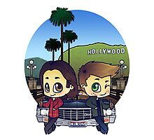 Winchesters in Pasadena Photographic Print