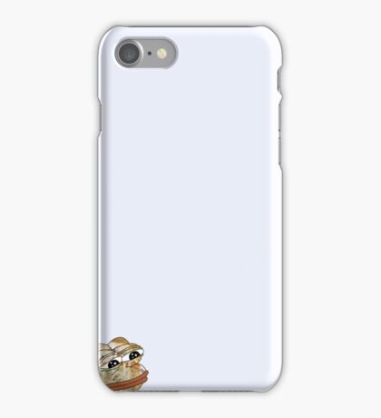 Lilac (with hidden pepe) iPhone Case/Skin
