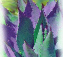 Purple Agave by B.L. Thorvilson